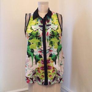 Prabal Gurung for Target floral print blouse